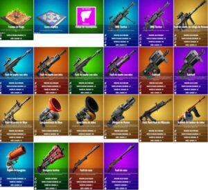 nuevas armas míticas en fortnite