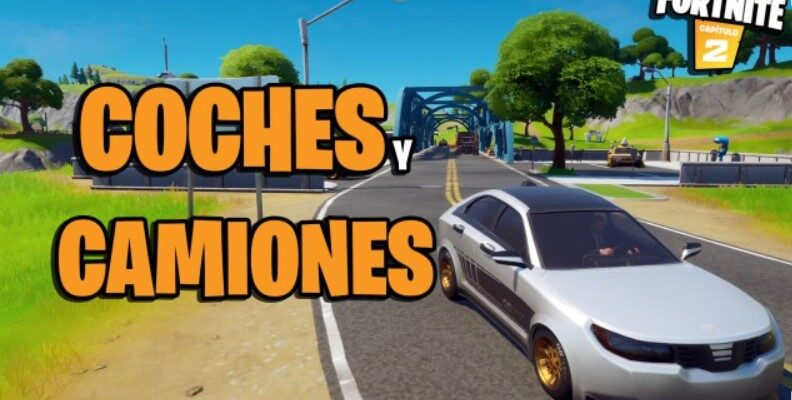 coches en Fortnite