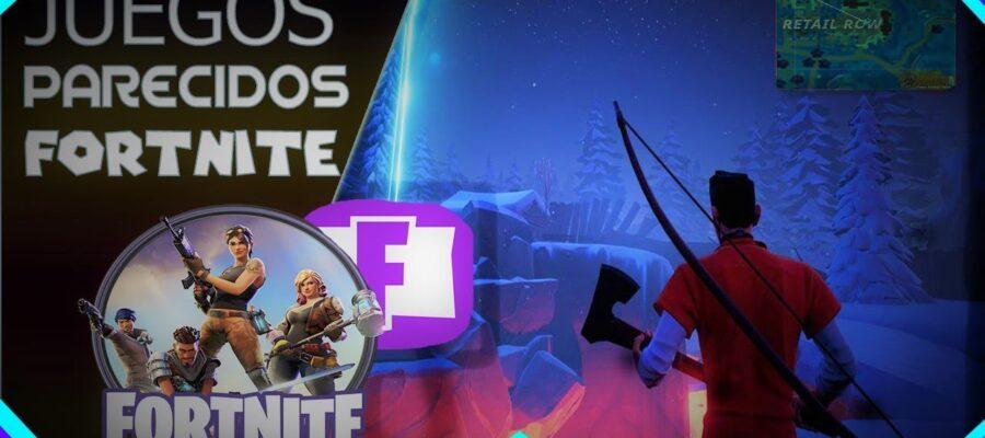 juegos similares a fortnite