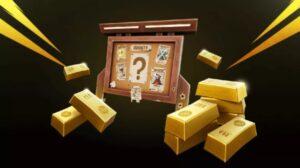 lingotes de oro fortnite
