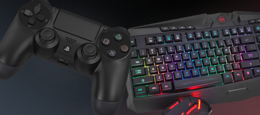 mando y teclado fortnite