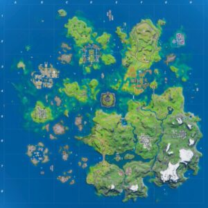 mapa fortnite temporada 3