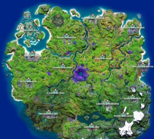 mapa fortnite temporada 7 capitulo 2