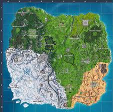 mapa temporada 7 fortnite