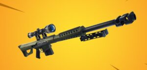 rifle de francotirador pesado fortnite